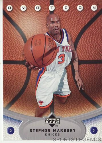 2006-07 Upper Deck Ovation #56 Stephon Marbury