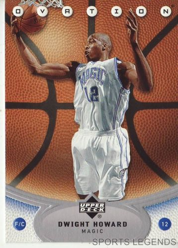 2006-07 Upper Deck Ovation #58 Dwight Howard