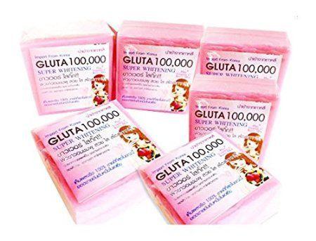 SOAP GLUTA 100000 GLUTATHIONE SUPER WHITENING SKIN BLEACHING FORMULA