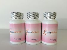 BREAST ACTIVES™ Natural Enhancement Dietary Supplement (3 MONTHS SUPPLY)