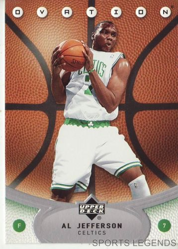 2006-07 Upper Deck Ovation #86 Al Jefferson