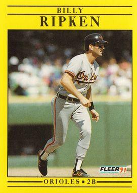 1991 Fleer #489 Bill Ripken