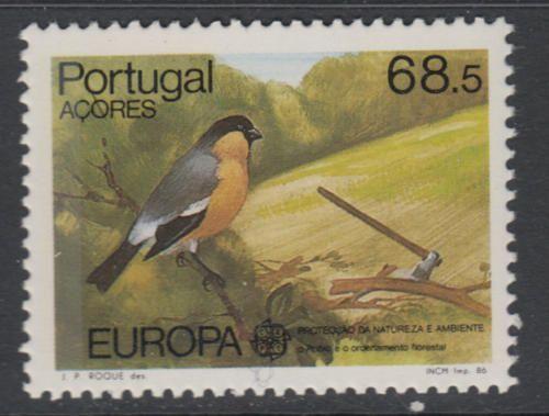 Portugal Azores Europa 1986 mnh