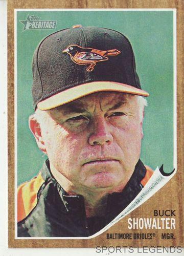 2011 Heritage #121 Buck Showalter