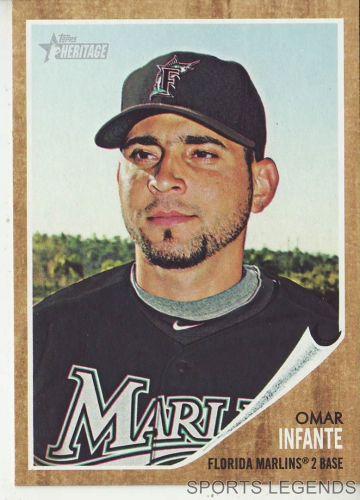 2011 Heritage #130 Omar Infante