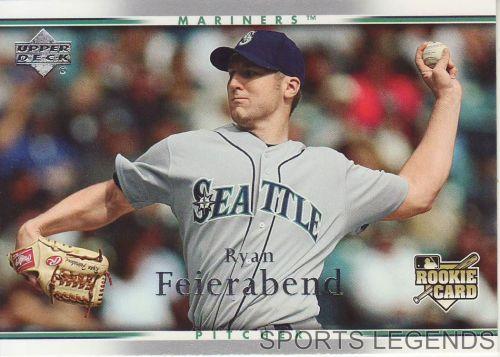 2007 Upper Deck #39 Ryan Feierabend