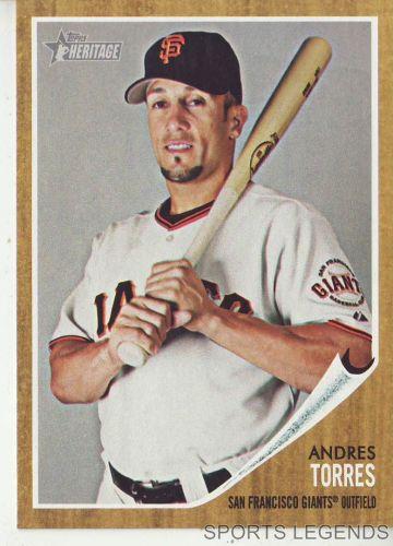 2011 Heritage #133 Andres Torres