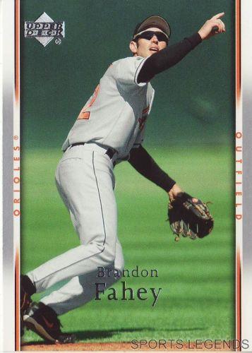 2007 Upper Deck #53 Brandon Fahey