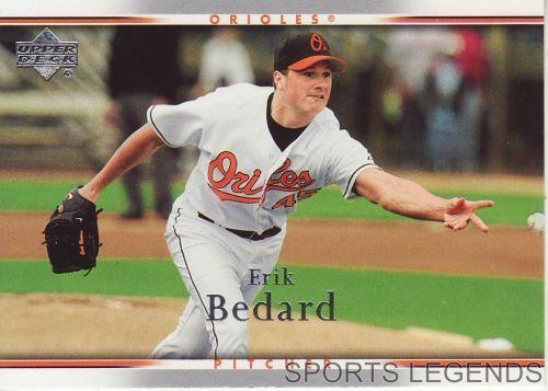 2007 Upper Deck #60 Erik Bedard