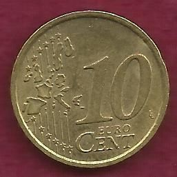 FRANCE 10 € EURO CENTS 2002 Coin
