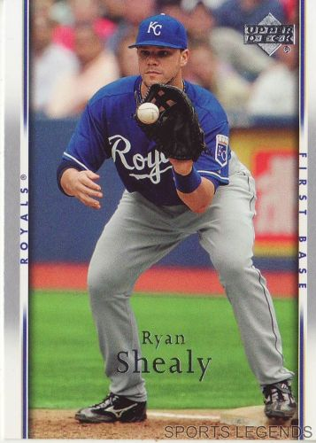 2007 Upper Deck #122 Ryan Shealy