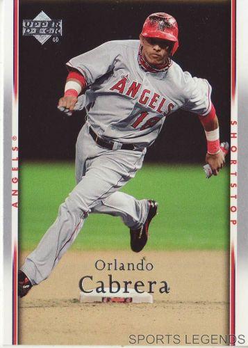 2007 Upper Deck #137 Orlando Cabrera