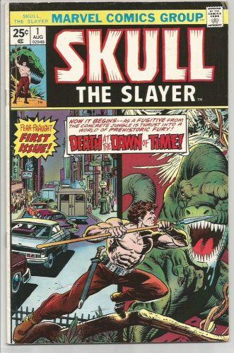 Skull The Slayer #1 Marvel Comics Wolfman, Gan, Marcos 1975 1st Print & Series