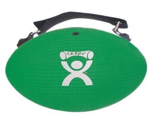 CanDo 4 lb. Handy Grip Hand Weight / Weight Ball, Green, for Strength Training