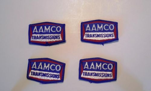 Lot of 4 AAMCO Transmisson Cap/Shirt Iron/Sew on Patches