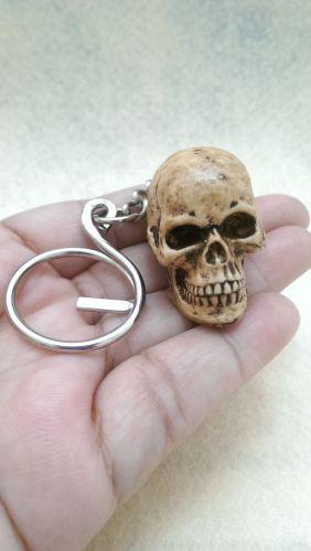 Skeleton Skull Keyring Resin Handmade Keychain Collectibles Bonehead Key Chain