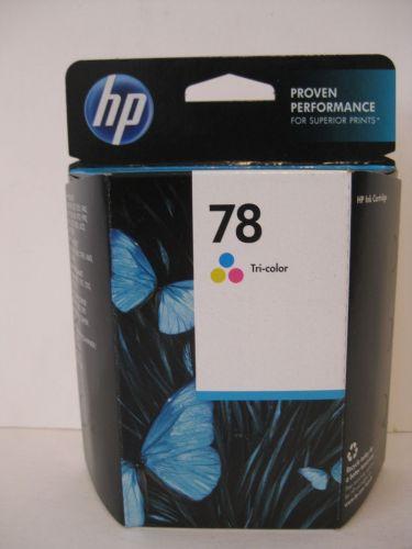 78 TRI COLOR ink HP DeskJet 9300 6127 6122 3820 1220 995 990 970 960 952 printer