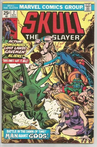 Skull The Slayer #2 Marvel Comics Wolfman, Gan 1975 FINE or Better