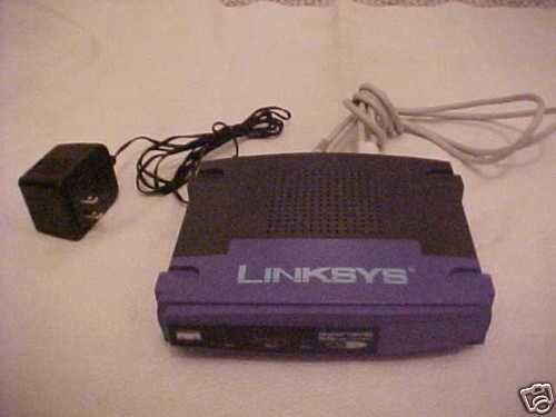 BEFSR41 version 4.0 Linksys EtherFast Cisco cable DSL router internet broadband