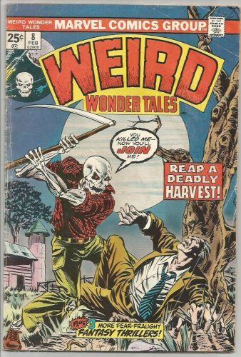 WEIRD WONDER TALES #8 Marvel Comics 1975