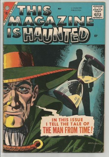 THIS MAGAZINE IS HAUNTED #16 STEVE DITKO art 3 Stories 1958 Charlton Comics