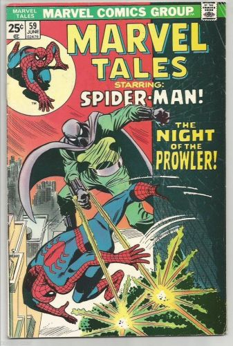 MARVEL TALES #59 Marvel Comics Fine -1975 Buscema / Stan Lee / Mooney VG