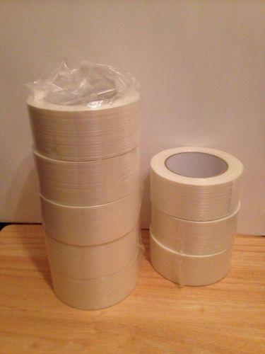 "Filament Tape Shipping Tape 2"" x 60 yds Economy Grade 8 Rolls"