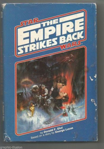 Star Wars EMPIRE STRIKES BACK Hardbound Book Don Glut