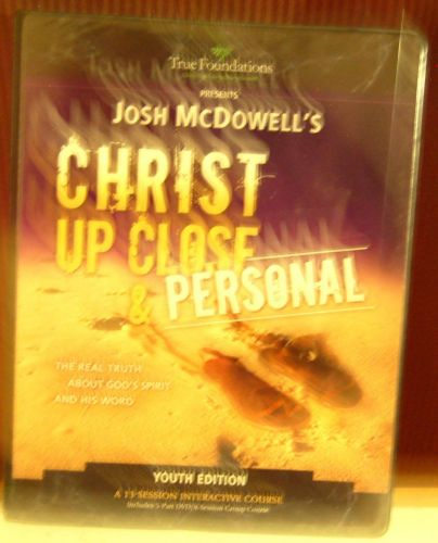 Josh McDowell's Christ Up Close and Personal 13 Session Interactive Youth Course