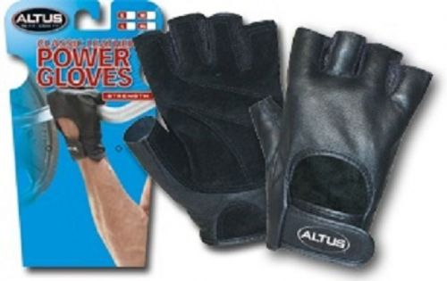 Genuine Leather Padded Palm Weight Lifting Gloves & Cross Training Gloves