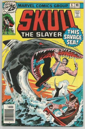Skull The Slayer #6 Marvel Comics Mantlo Buscema Gan 1976
