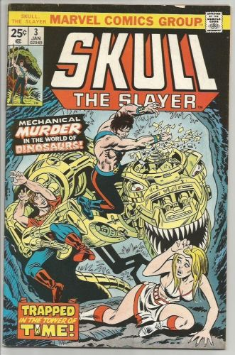 Skull The Slayer #3 Marvel Comics Wolfman, Gan, Marcos 1976 FINE