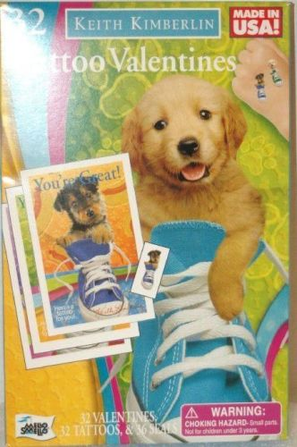 Keith Kimberlin Tattoo 32 Valentines Cards Tattoos Seals New Puppy