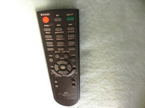 remote control - Montage Acoustic Systems BT 4480 Prof. Home Theater speakers