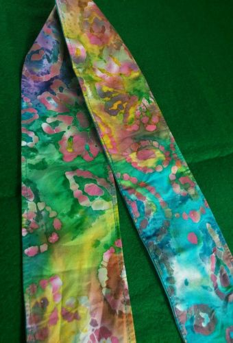 Headband hair wraptie bandana Batiks Print Hippie Boho 100% Cotton hand made