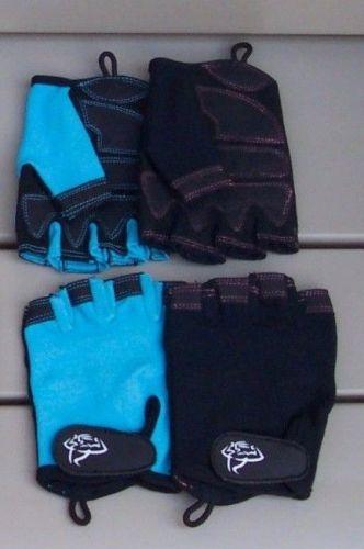 Womens Fingerless Gym Gloves for Yoga, Aerobics, Running, Fitness and Exercise