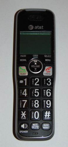 AT T CRL82312 handset = CORDLESS satellite PHONE att charging remote HD AUDIO