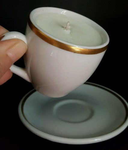 Expresso Cup Soy Wax Candle---Balsam