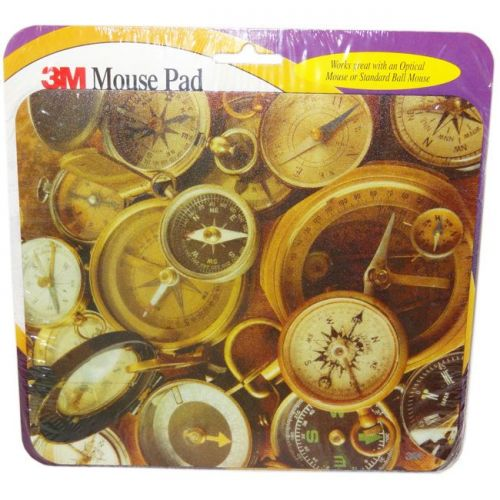 3M Compass Themed Optical Mouse Pad
