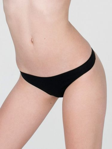 A570T Express Intimates NEW Essential Logo Waistband All Stretch Cotton Thong PR