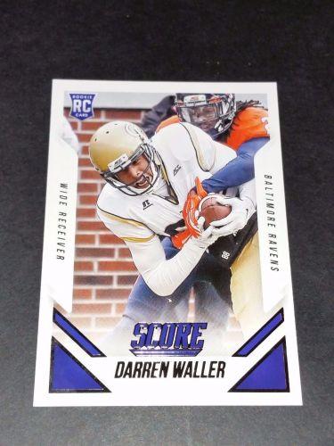 NFL Darren Waller Ravens SUPERSTAR 2015 PANIN FOOTBALL ROOKIE GEM MN