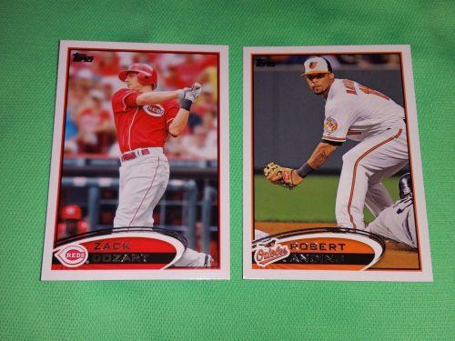 MLB LOT OF 2 2012 Topps Baseball GD-VG