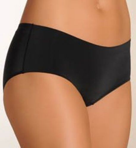 A404H Donna Karan Intimates Sensualist Microfiber Hipster Panty 470093 Black New