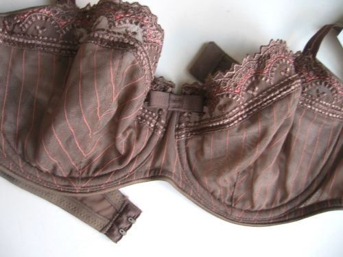 SB0092 Chantelle NEW 2995 Cafe Chantilly Couture Unlined Soft Cups UW Bra 32D PR