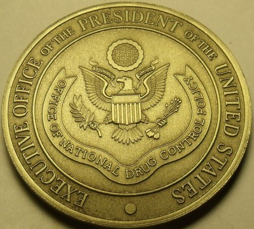 Office Of National Drug Control Policy Huge Unc Medallion~Executive Office~Fr/Sh