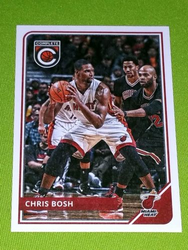 NBA 2015-16 PANINI COMPLETE CHRIS BOSH HEAT SUPERSTAR #37 MNT