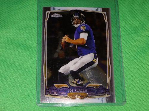 NFL Joe Flacco Ravens 2014 Topps Chrome Football Mnt