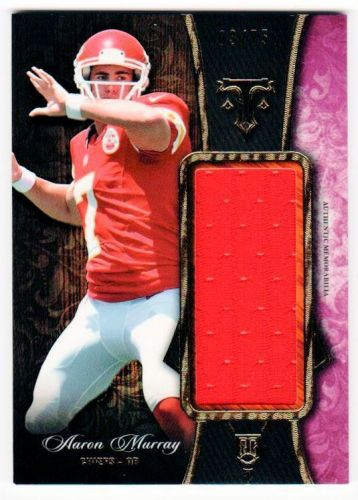 NFL 2014 TRIPLE THREADS AARON MURRAY JUMBO JERSEY /75 MNT