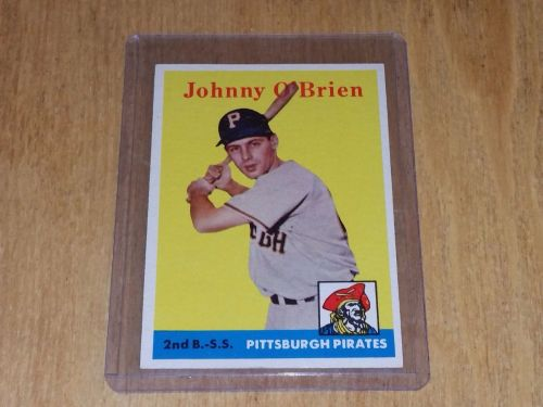 VINTAGE JOHNNY O'BRIAN PIRATES 1959 TOPPS #426 GD-VG