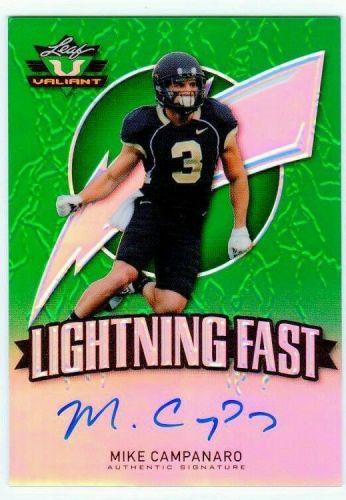 NFL 2014 Leaf Valiant Mike Campanaro AUTO RC MNT